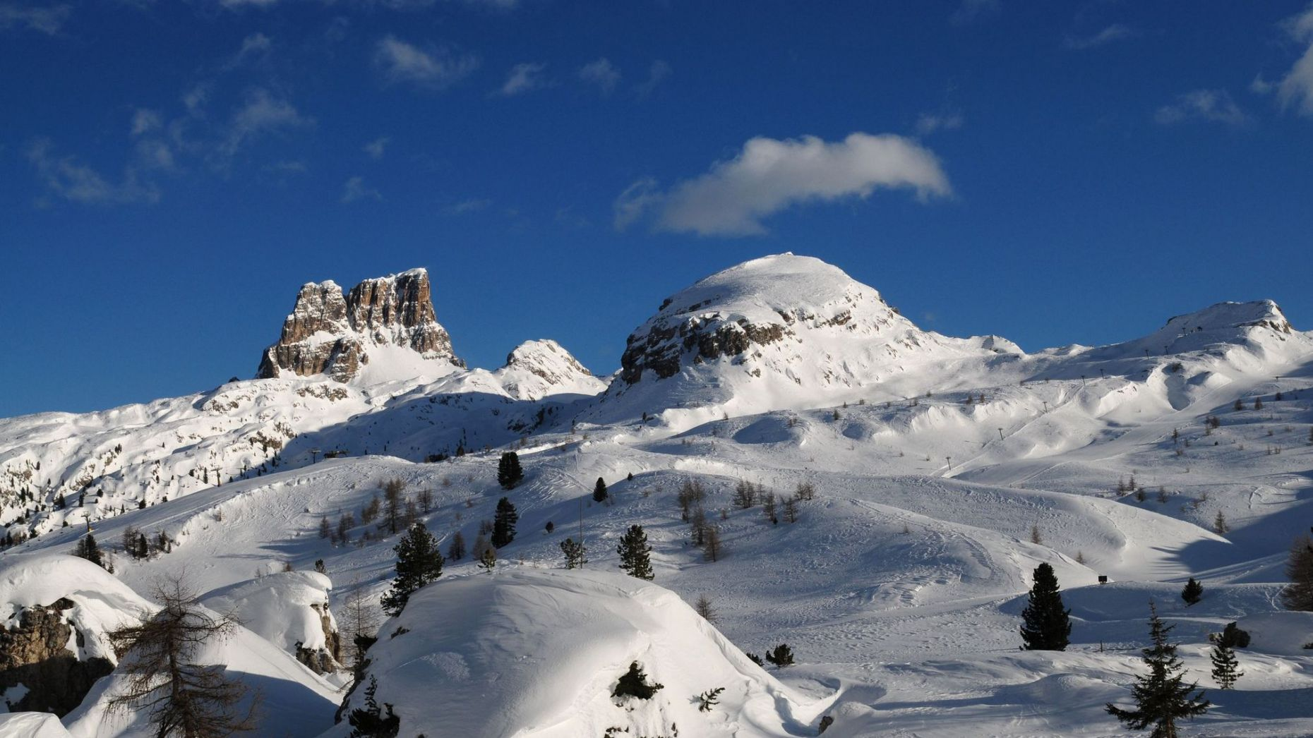 Image: Location in San Cassiano